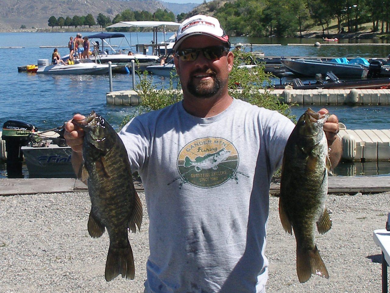 2012 banks lake open results for Banks lake fishing